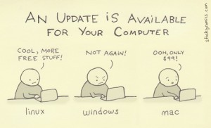 Updates, diffrent for diffrent people